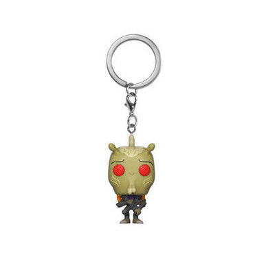 Rick and Morty Krombopulos Michael Pocket Pop Keychain Exclusive