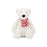 Bashful Pax Polar Bear Stuffed Animal (Small)