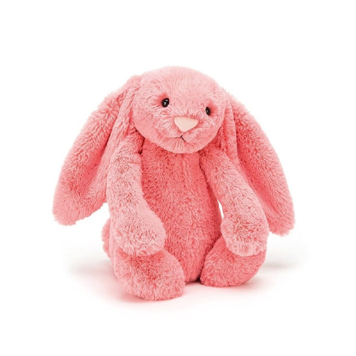 Bashful Coral Bunny Stuffed Animal