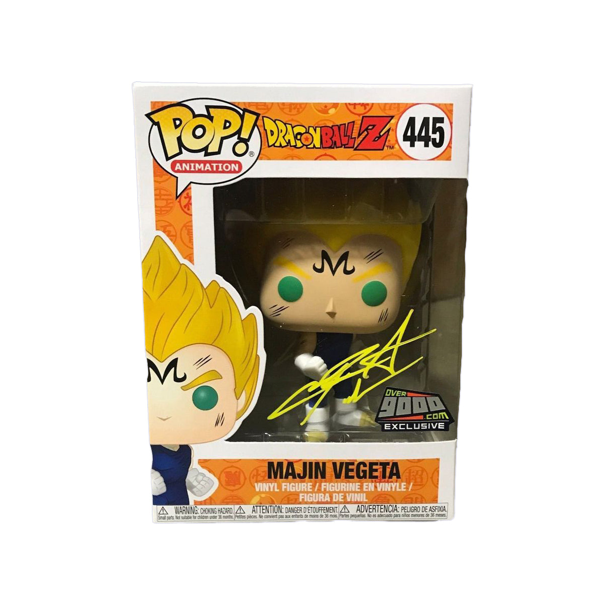 Dragon Ball Z Majin Vegeta Autographed Exclusive
