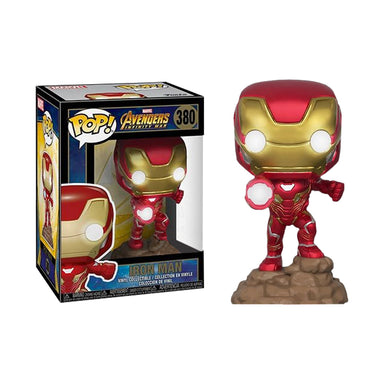 Marvel Avengers Infinity War Iron Man Light Up Electronic Exclusive
