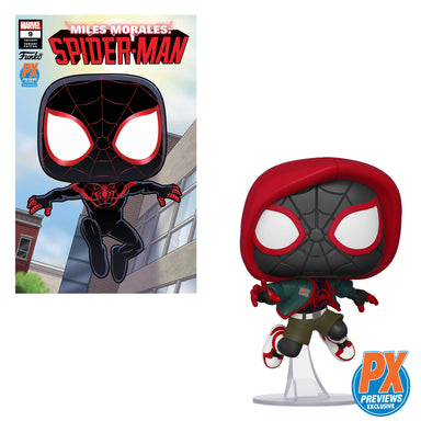 Spider-Man Into the Spiderverse Casual Miles Morales Previews Exclusive with Variant Comic