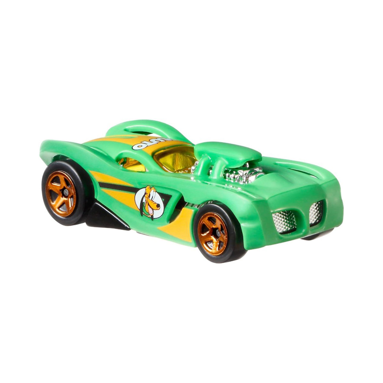 Hot Wheels Disney Mickey and Friends Pluto Vehicle (GBB44)