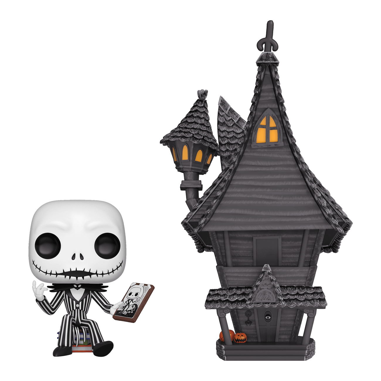 Nightmare Before Christmas Jack Skellington and House Pop Town
