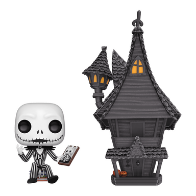 Nightmare Before Christmas Jack Skellington and House Pop Town (October Preorder)