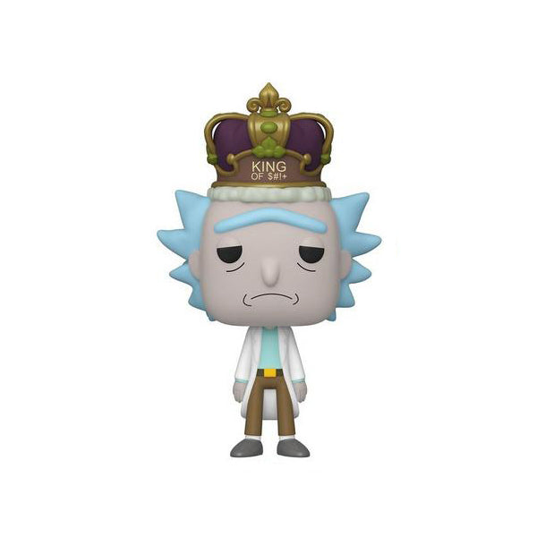 Rick and Morty Rick with Crown Exclusive