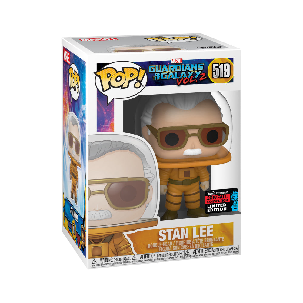 Marvel Stan Lee Cameo Astronaut Fall Convention Exclusive