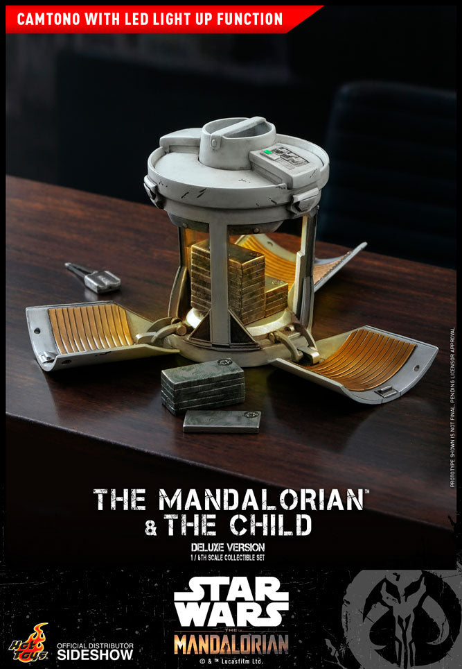 The Mandalorian and The Child Deluxe Sixth Scale Set (July 2021 Preorder)