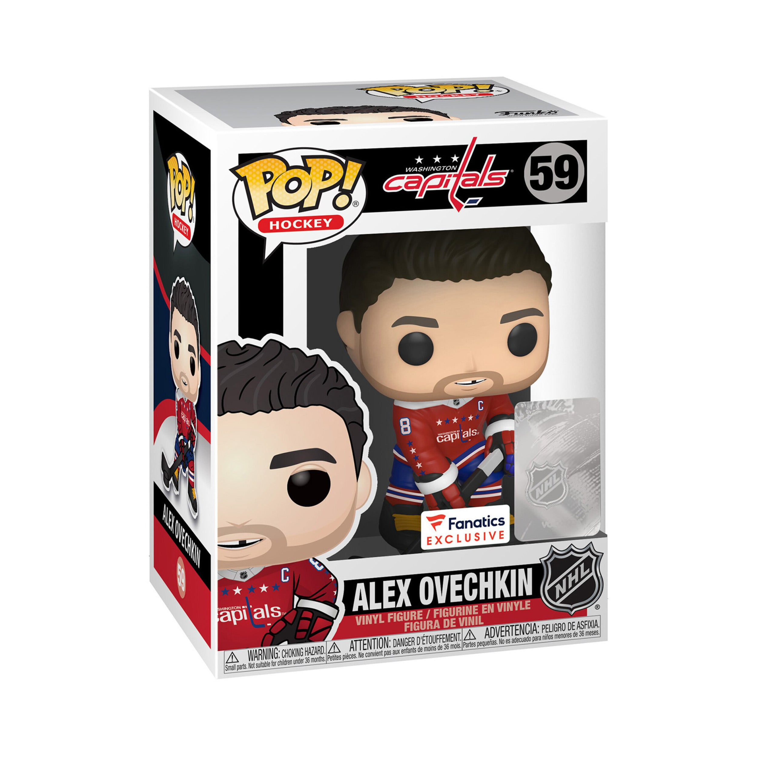 NHL Washington Capitals Alexander Ovechkin Exclusive