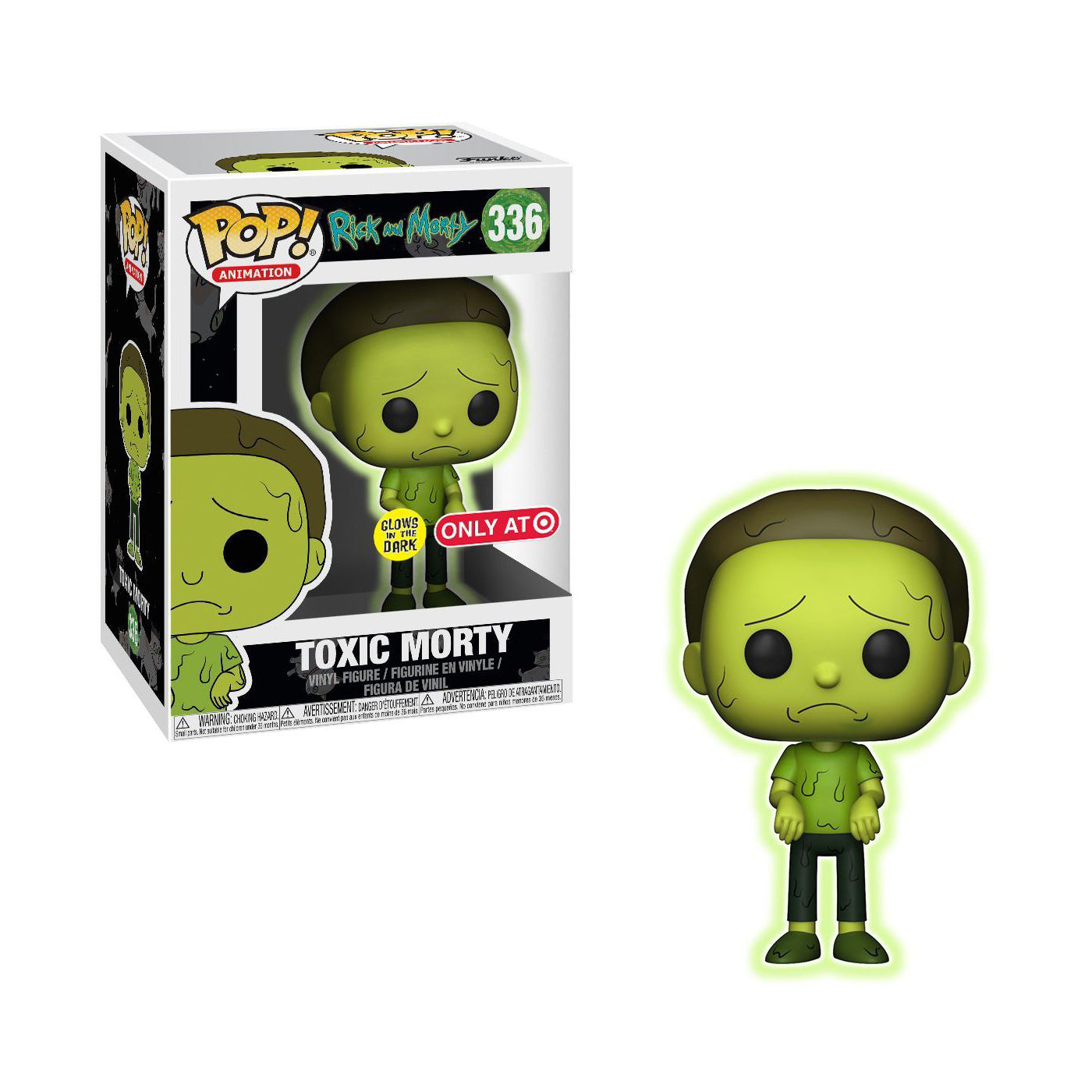 Rick and Morty Toxic Morty Exclusive (Not Mint)