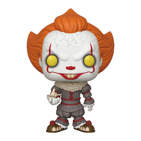 It Chapter 2 10-Inch Pennywise with Boat