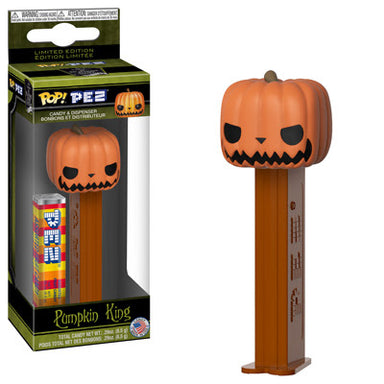 Nightmare Before Christmas Pumpkin King Pop Pez