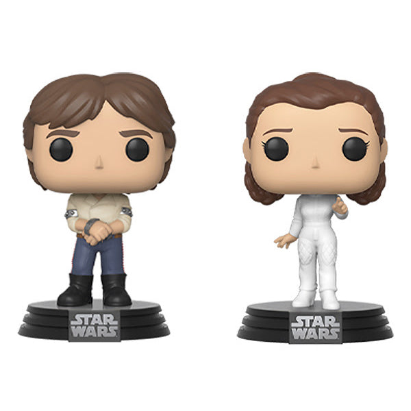 Star Wars Empire Strikes Back Han Solo and Princess Leia 2-Pack