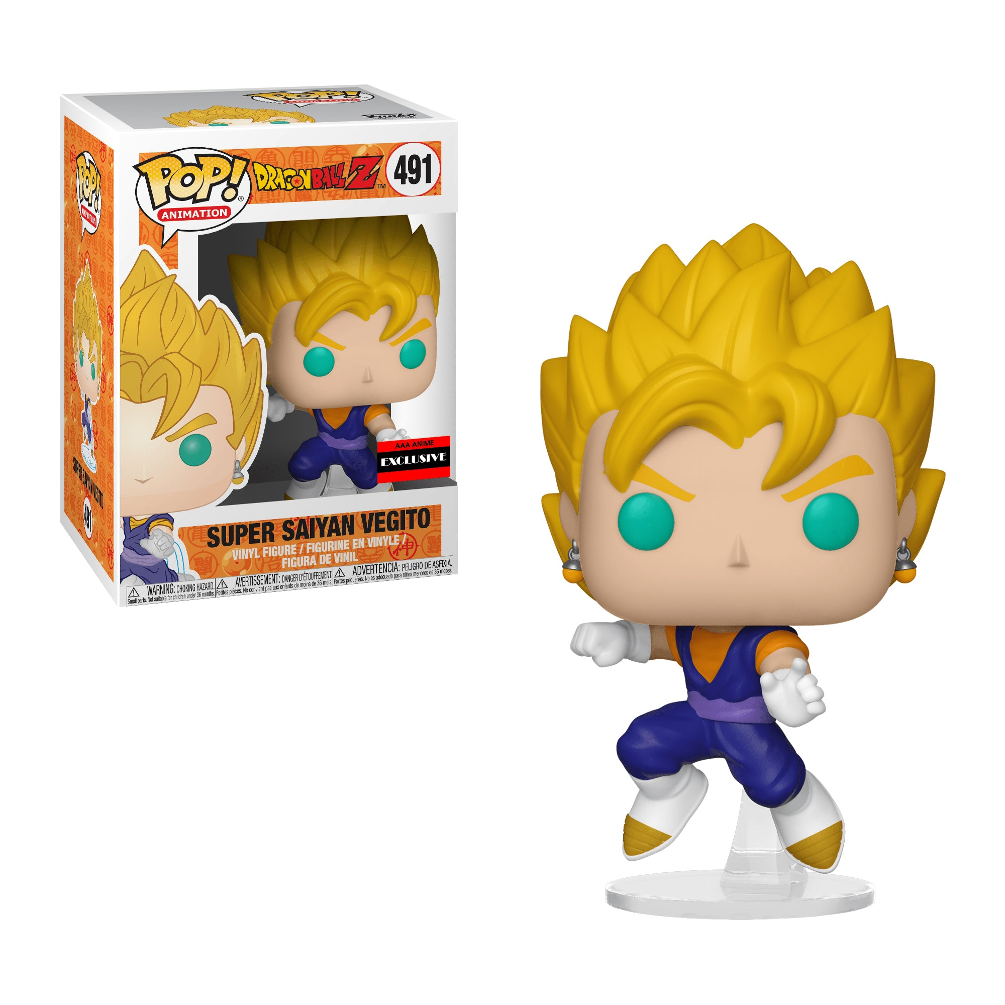 Dragon Ball Z Super Saiyan Vegito AAA Anime Exclusive