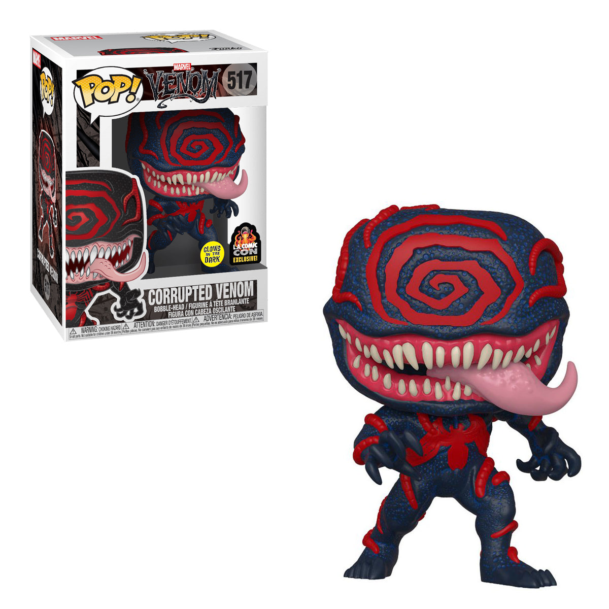 Marvel Glow In The Dark Corrupted Venom Exclusive