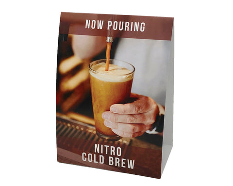 """Now Pouring Nitro"" POS Kit"