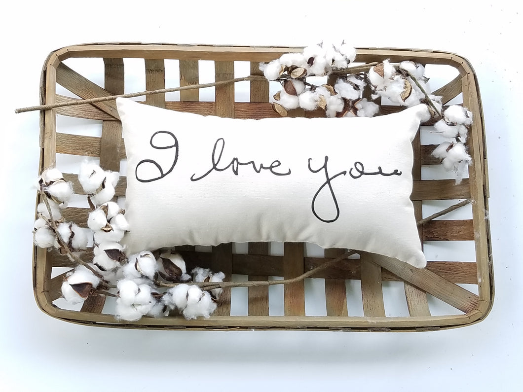 Handwriting Pillow