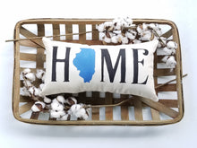 Custom State Home Pillow