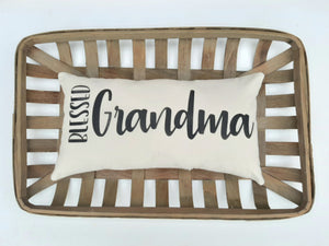 Blessed Grandma Pillow