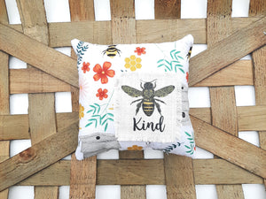 Bee Kind Mini Pillow