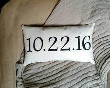 Special Date Pillow for Wedding, Graduation, Final Treatment