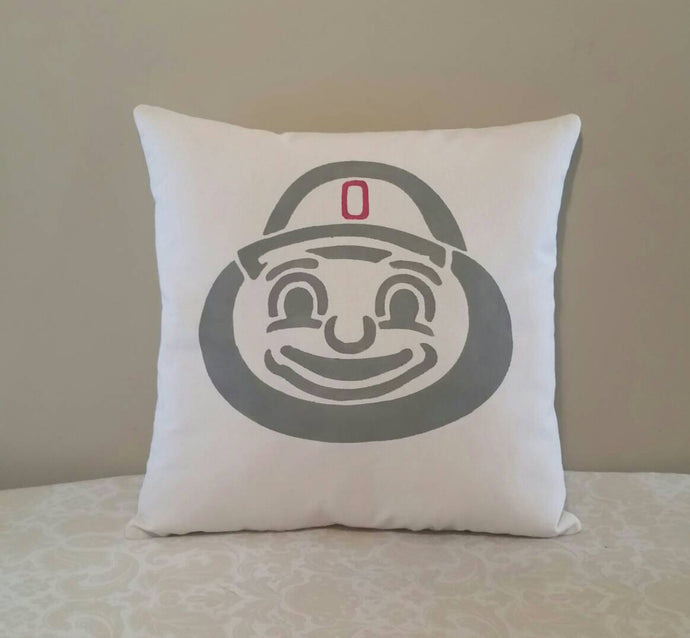 Brutus Buckeye Pillow