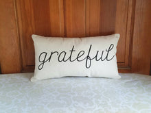 Grateful Modern Farmhouse Pillow
