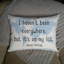 I haven't been everywhere, but it's on my list | Wanderlust Gift
