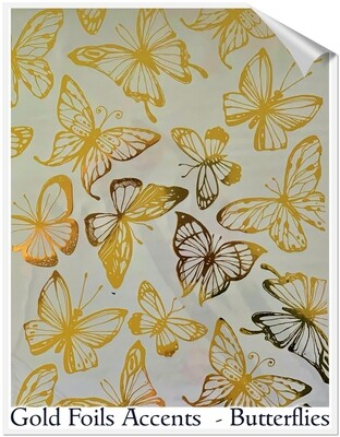 Butterflies Foil Transfer