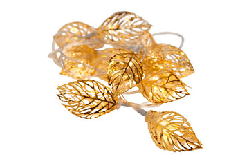 Leaf LED Garland 10 Lights