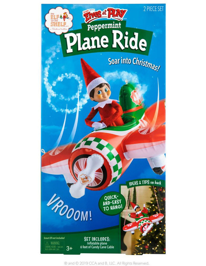 Inflatable - Peppermint Plan Ride