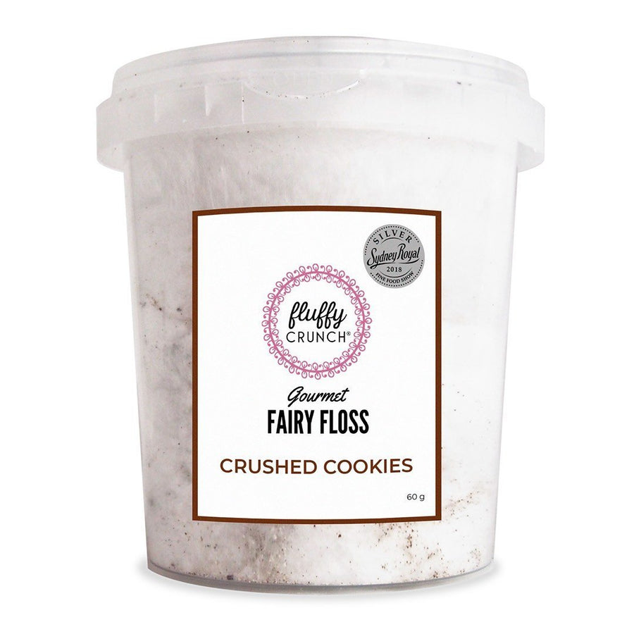 Crushed Cookies Fairy Floss