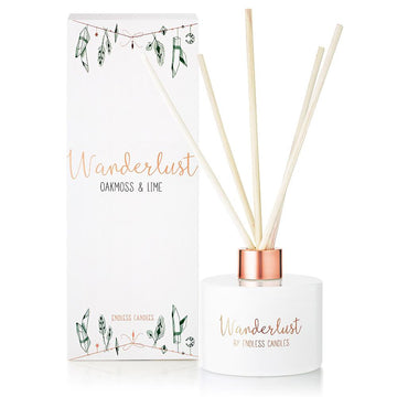 Wanderlust Diffuser - Oakmoss and Lime