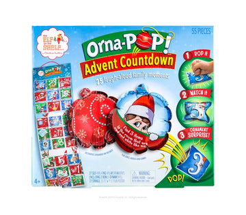ORNA-POP!™ ADVENT COUNTDOWN