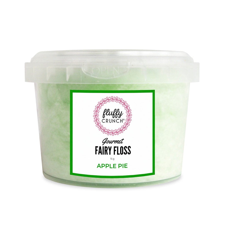 Fluffy Crunch Fairy Floss Apple Pie