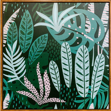 Green Leaf Foliage  100x100