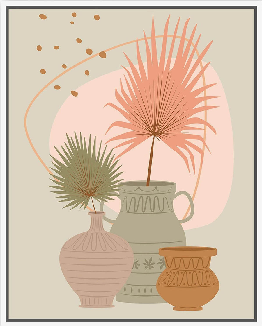 Palms and Urns 80x100 - PICKUP ONLY