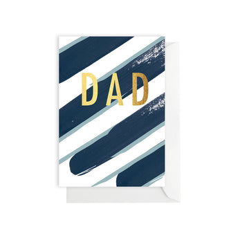 Stripe Dad Card