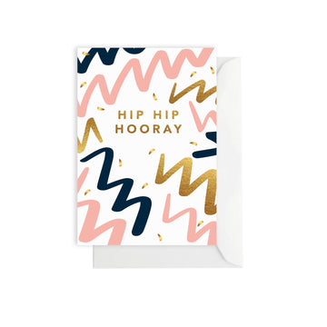 Hooray Party Greeting Card