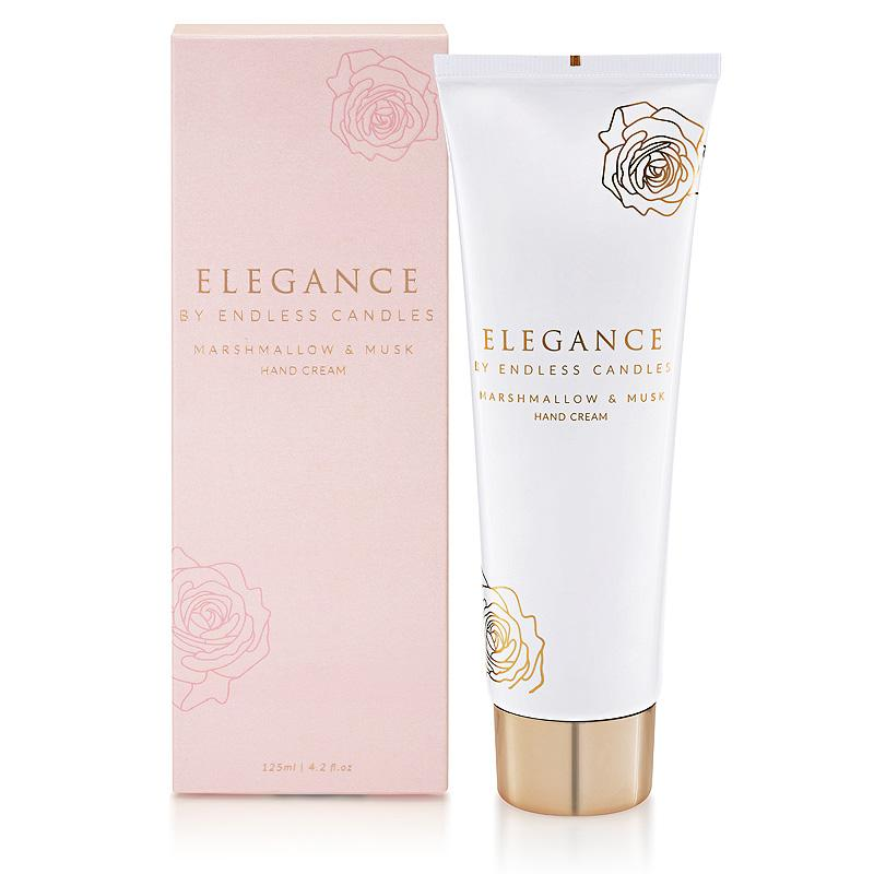 Elegance Hand Cream - Marshmallow and Musk
