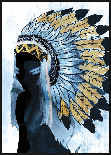 Premium Edition - Indian Goddess with Foil Embellishment 62x92