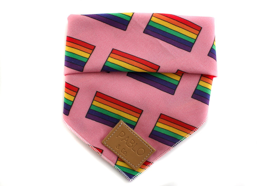 The Pride Flag Bandana