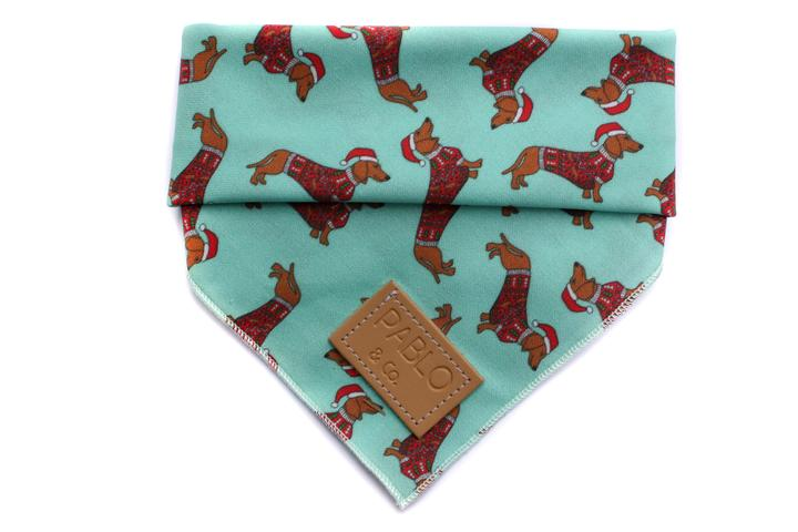 Dachshund Through the Snow Bandana