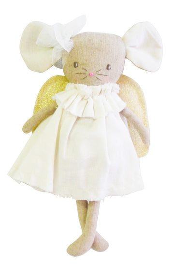Angel Baby Mouse - Ivory Gold 25cm