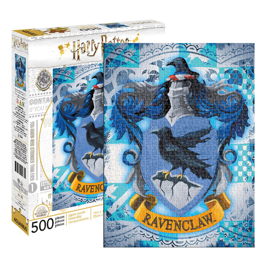 Harry Potter - Ravenclaw 500pc Puzzle