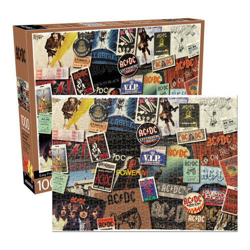 ACDC - Album Cover Collage 1000pc Puzzle