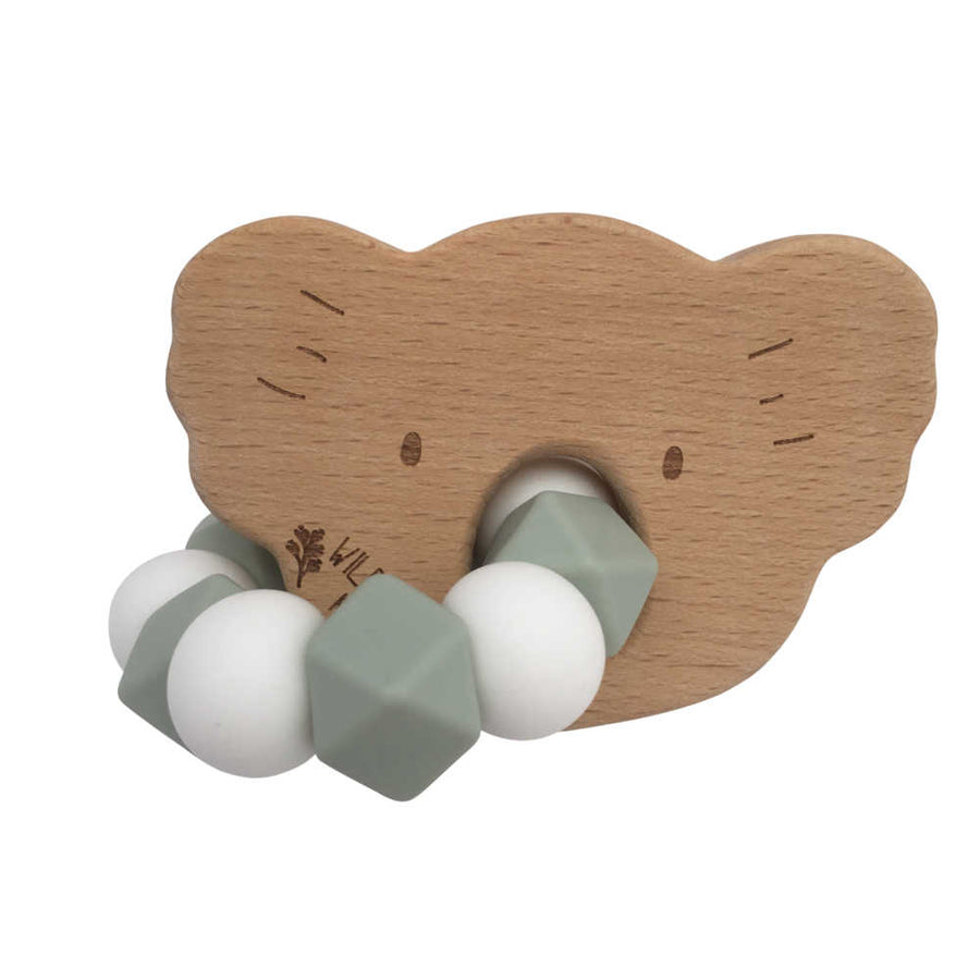 Koala Teething Toy - Green