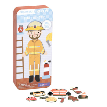 Magnetic Puzzle Box - Firefighter