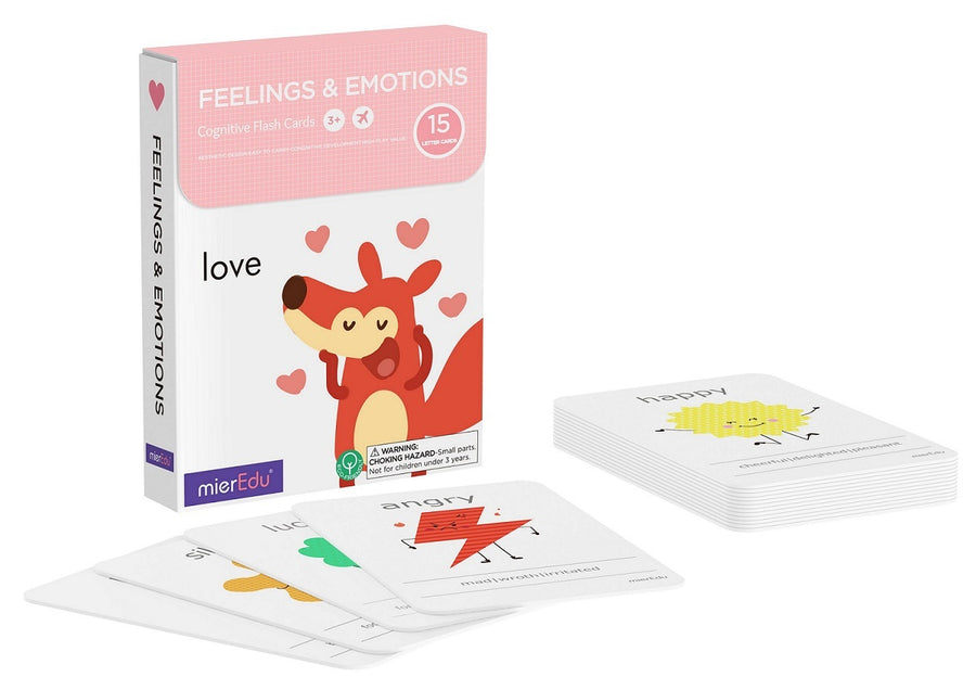 Cognitive Flash Cards - Feelings and Emotions