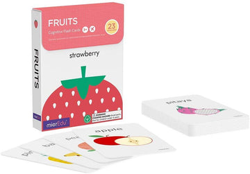 Cognitive Flash Cards - Fruits